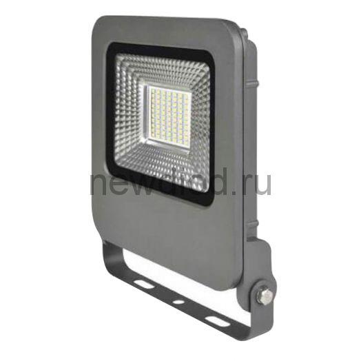 Прожектор светодиодный ULF-F17-20W/NW IP65 195-240В SILVER 4000K серебристый