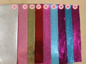`Искусственная кожа(PU, кожзам), сетка, зеркальные блестки, толщина 0,5мм размер A3(44*30см), Р-ИК-JD-8014