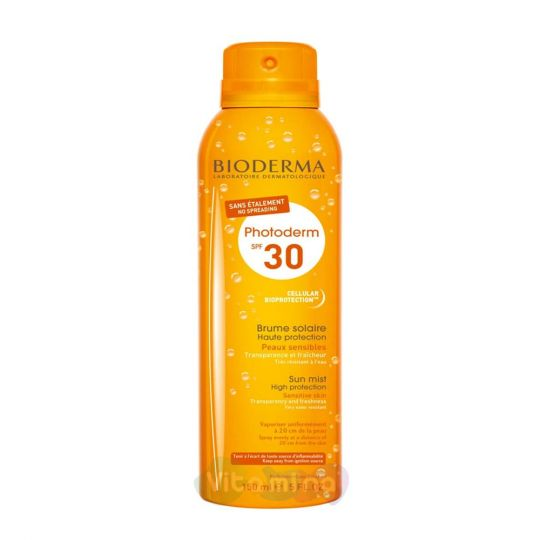 Bioderma PhotoDerm Спрей-вуаль SPF 30 Биодерма Фотодерм,150 мл
