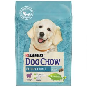 Корм сухой PURINA DOG CHOW PUPPY для щенков всех пород с ягненком 14кг