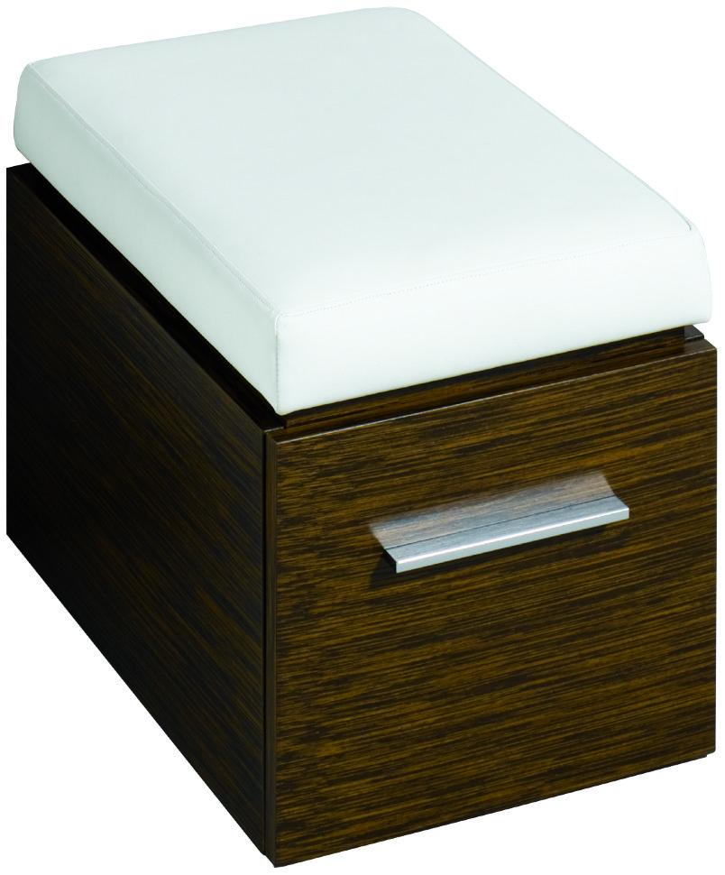 Пуфик с выдвижным ящиком Keramag Silk (816071000)