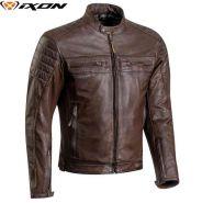 Мотокуртка кожаная водонепроницаемая Ixon Torque, Коричневая