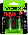 VIDEX LR6/AA TURBO 2 BLISTER CARD (20)