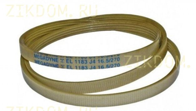 Ремень для стиральной машины 1183 J4 EL Megadyne