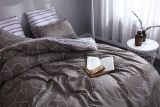 Комплект постельного белья делюкс сатин L127