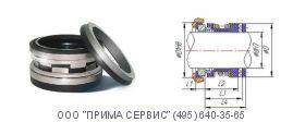 Торцовое уплотнение 25mm 2100S M BBR1S1 John Crane (Джон Крейн)