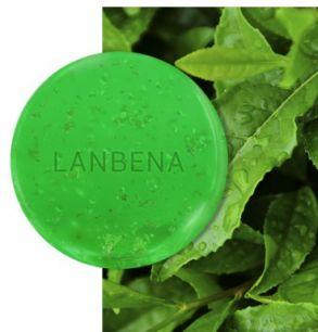 Косметическое мыло ручной работы Lanbena с эфирным маслом чайного дерева.(4050)