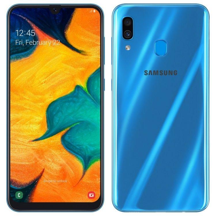 Samsung Galaxy A30 3/32GB (2019) Blue (SM-A305FZBUSER)