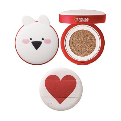 Основа тональная The Saem (Over Action Little Rabbit) Love Me Cushion 14гр