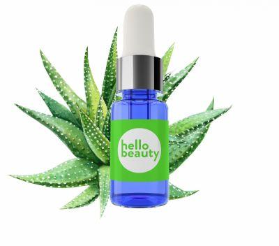 Hello Beauty Сыворотка с экстрактом алоэ вера для заживления и увлажнения кожи