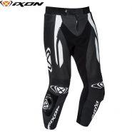 Мотоштаны кожаные Ixon Vortex 2, Черный/белый