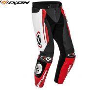 Мотоштаны кожаные Ixon Vortex 2, Черный/белый/красный