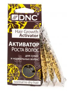 """""""DNC"""" Активатор роста  для сухих и норм. волос 3х15мл."""