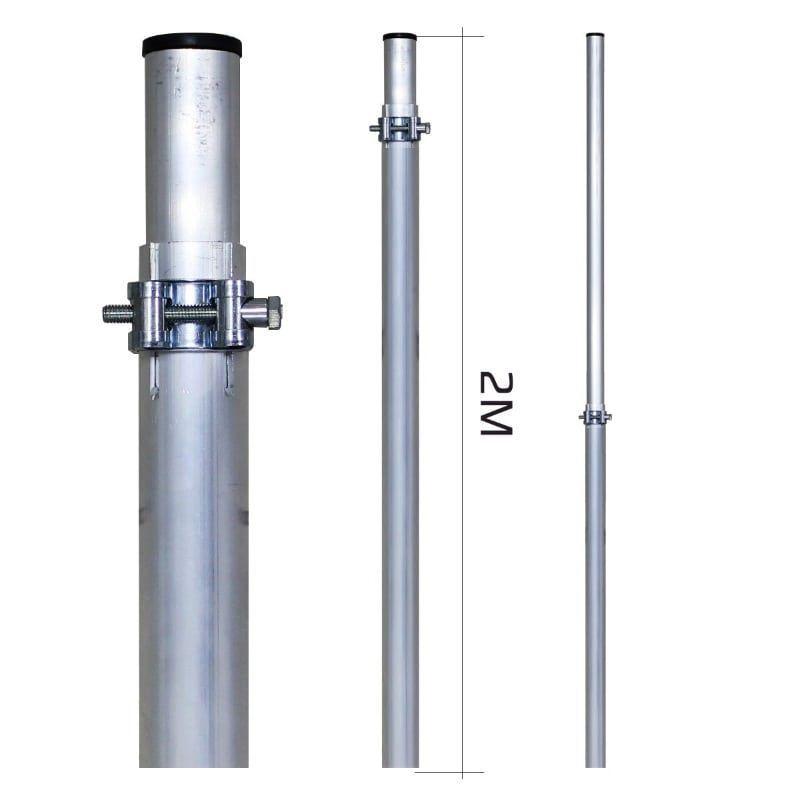 Мачта 8м Алюминиевая (МАТ 20-80)