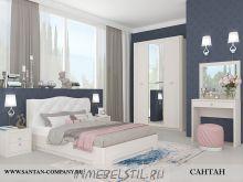 Спальня Эйми 2 с патиной