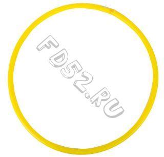 Обруч d 80см желтый