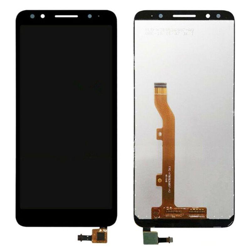 LCD (Дисплей) Alcatel 5059D 1X (в сборе с тачскрином) (black) Оригинал
