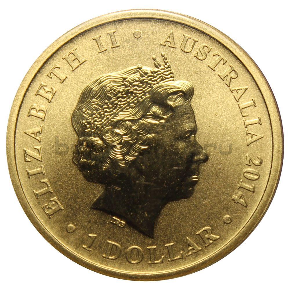 1 доллар 2012 Австралия 100 лет красному кресту