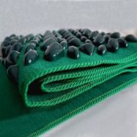 Рефлекторный массажный коврик с камнями Fitstudio Massage рис 4