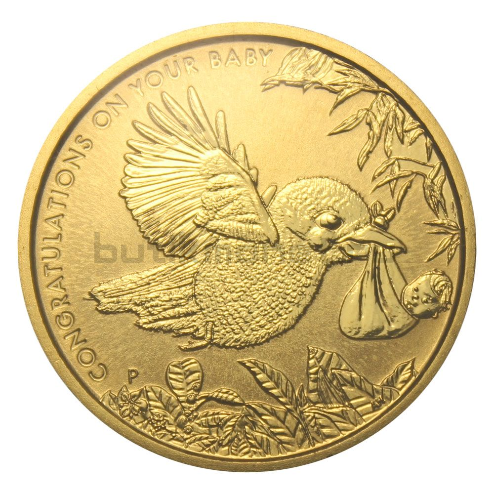 1 доллар 2014 Австралия Кукабара