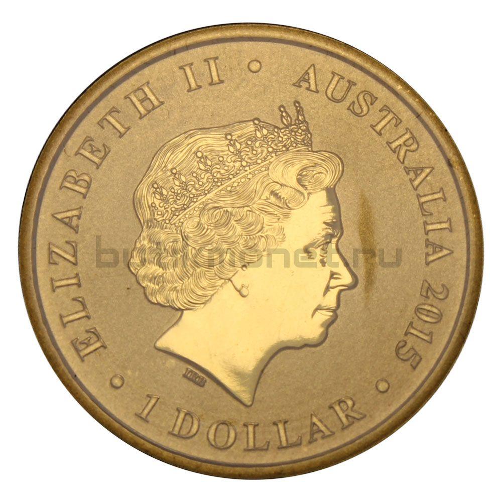 1 доллар 2014 Австралия 100-летие правления Содружества маяков