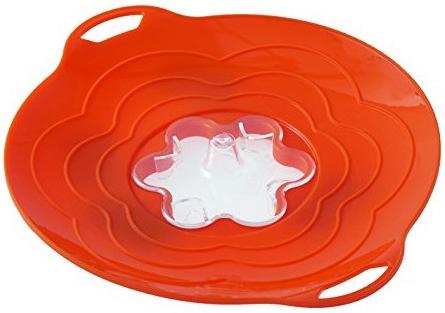Крышка-стоп Silikomart 30 см оранжевая 7203172