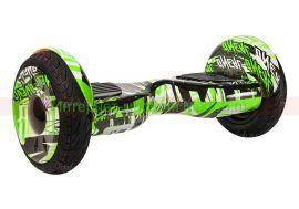 Гироскутер Smart Balance PRO PREMIUM 10.5 V2 + APP + Самобаланс  (Зелёный граффити)