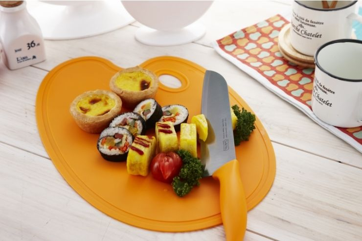 Разделочная доска Sallema Food Palette апельсин