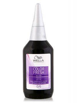 Wella Color Fresh Silver Оттеночная краска 5/56 Рубин