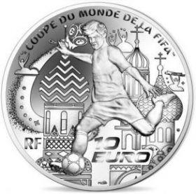 Чемпионат мира по футболу 2018 10 евро Франция 2018 на заказ