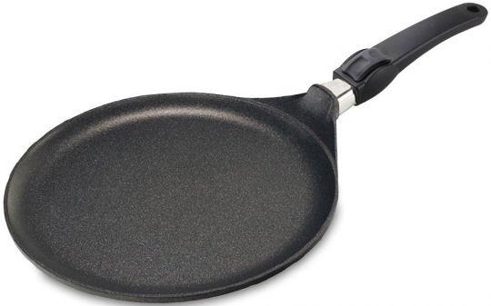 Сковорода блинная Индукция Lotan 24 х 1 см со съёмной ручкой