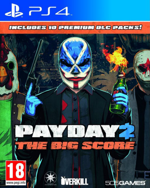 Игра Pay Day 2 + 10 Premium DLC Packs (PS4)