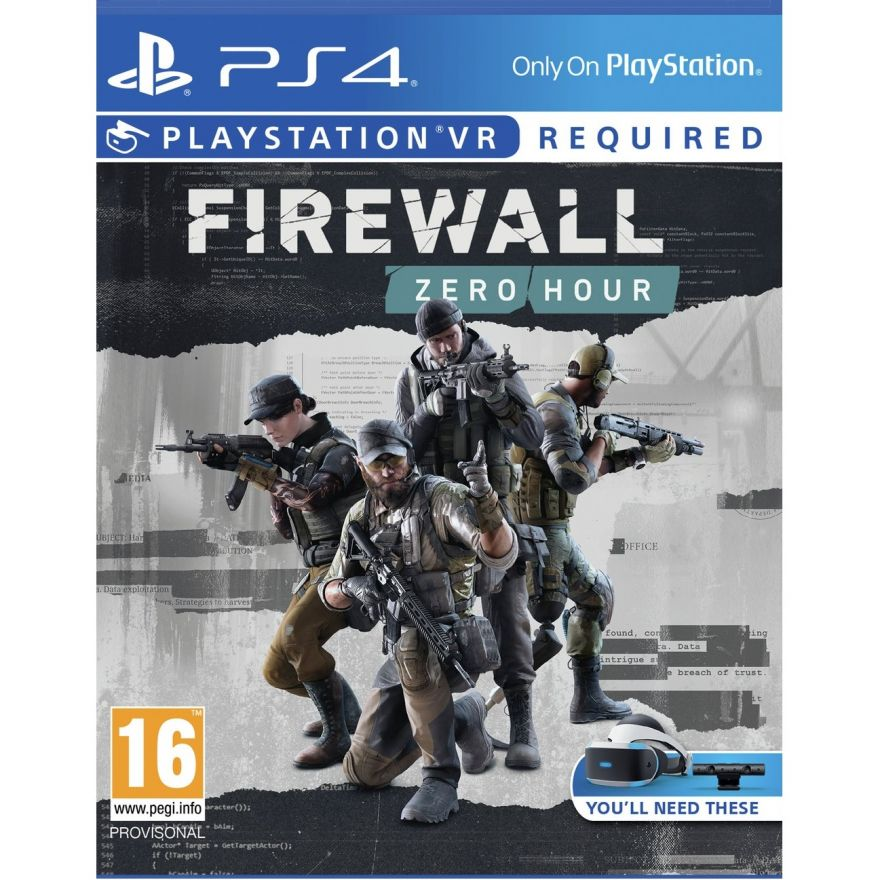 Игра FireWall Zero Hour (Только PS4 VR)