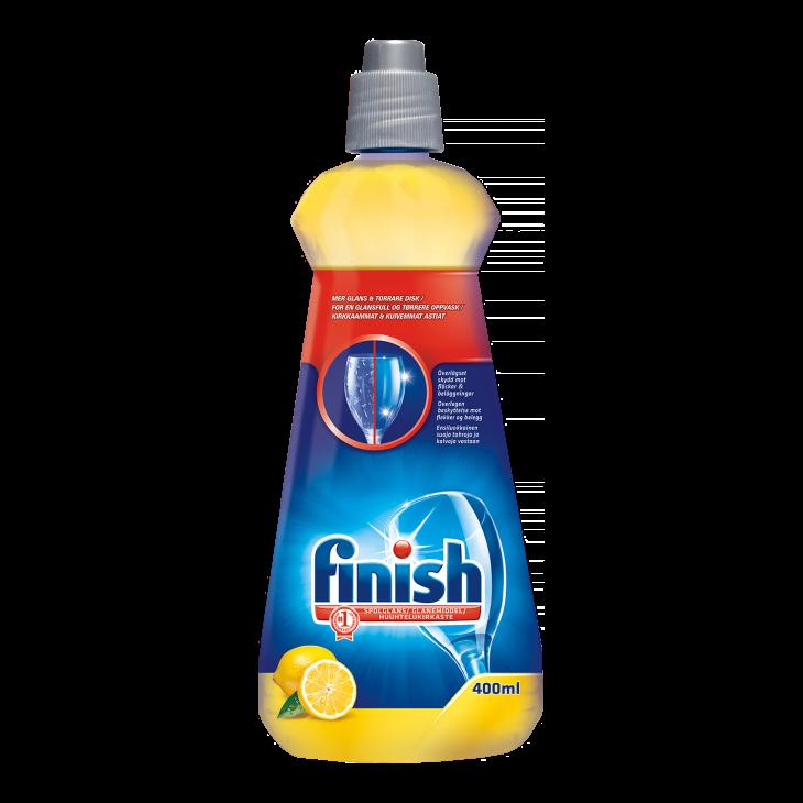 FINISH ополаскиватель для ПММ лимон