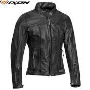 Куртка кожаная женская Ixon Crank Air, Черный