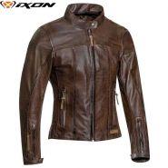 Куртка кожаная женская Ixon Crank Air, Коричневый