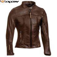 Куртка кожаная женская Ixon Crank, Коричневый