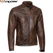Куртка кожаная Ixon Crank, Коричневый
