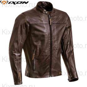 Куртка кожаная Ixon Crank Air, Коричневый