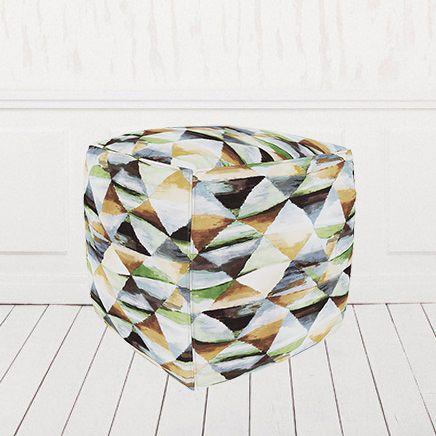 Пуфик кубик велюр Твинкли 1