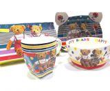 Набор детской посуды HAPPY BEARS 4 предмета