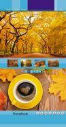 """Телефонная книжка """"Осенний коллаж"""" (80 листов, А5, гребень) (арт. С0357-34)"""