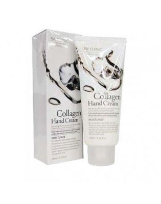 Крем для рук увлажняющий 3W Clinic Collagen Hand Cream c коллагеном 100мл