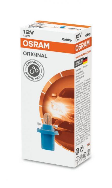 Лампа 12V 1,2W 2721MFX  OSRAM