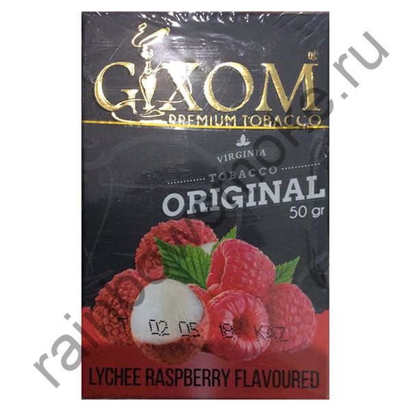 Gixom Original series 50 гр - Lychee Raspberry (Личи и Малина)