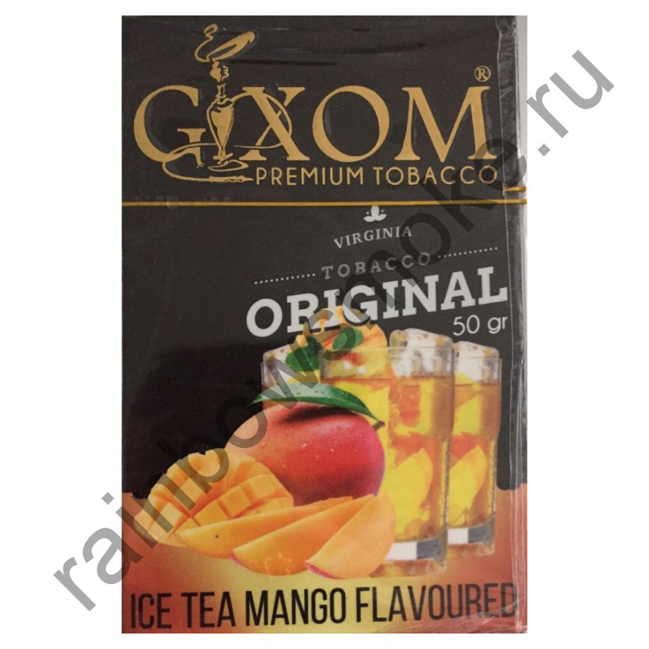 Gixom Original series 50 гр - Ice Tea Mango (Холодный Чай Со Вкусом Манго)