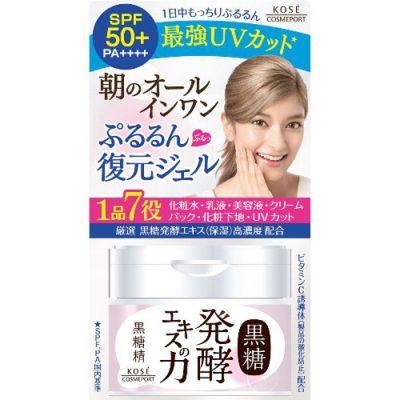 Kose Cosmeport Kokutosei Утренний гель для лица на основе экстракта сахарного тростника SPF50+ 90 гр