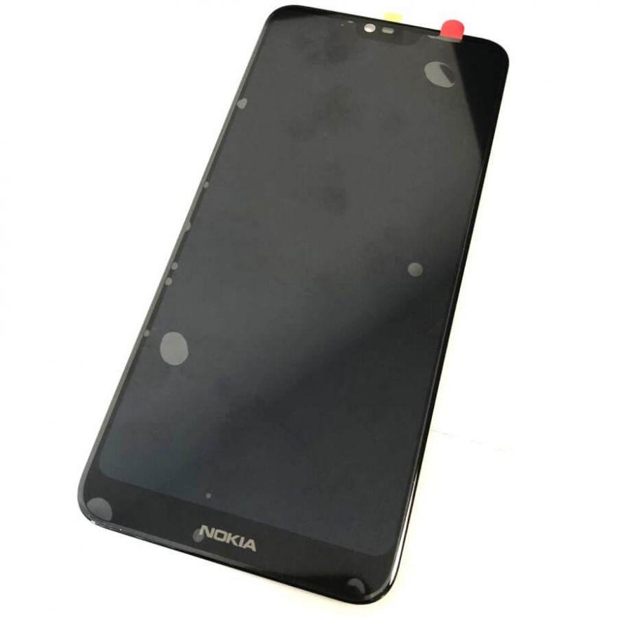 Дисплей в сборе с сенсорным стеклом для Nokia 7.1 (TA-1095)