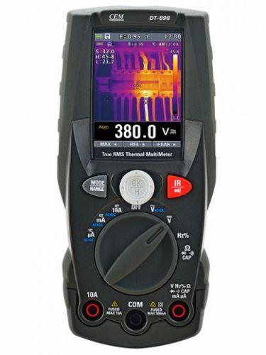 DT-898 Мультиметр + тепловизор
