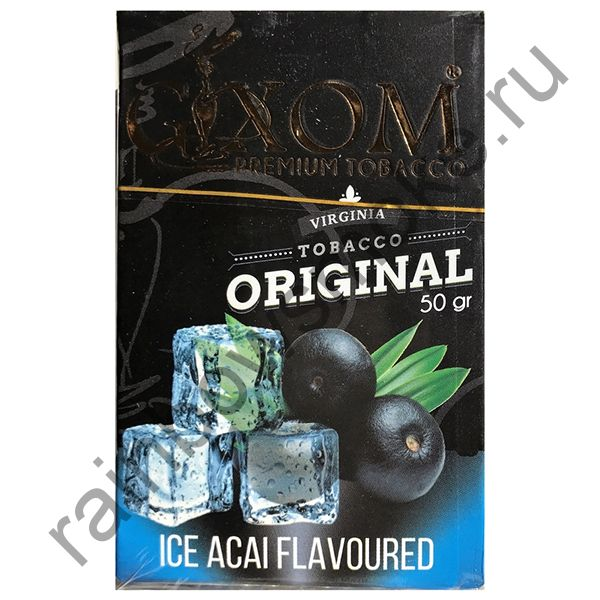 Gixom Original series 50 гр - Ice Acai (Ледяные Ягоды Асаи)